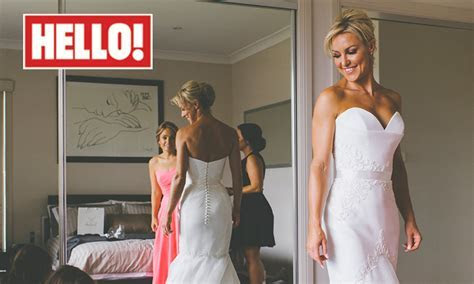 Strictly's Natalie Lowe stars in new wedding photos