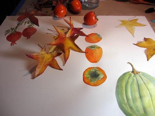 I love Autumn ~ in progress