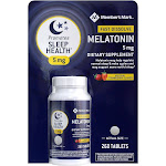 Member's Mark Fast Dissolve Melatonin 5mg Strawberry Flavor, 260 Tablets