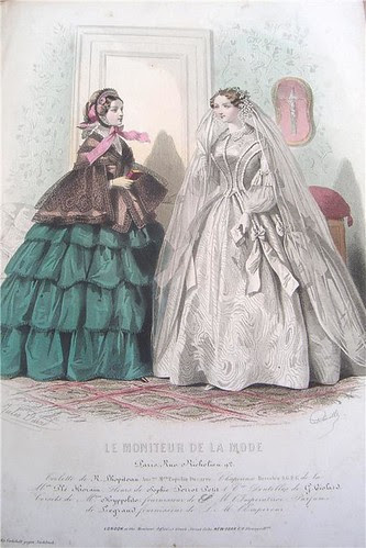 Le Moniteur de la Mode, 1850s