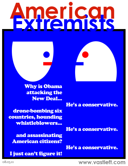 American Extremists - National man of mystery