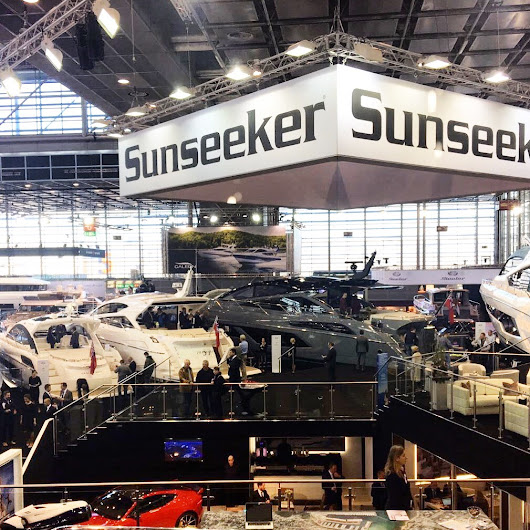 BOAT SHOW: It is the last weekend to visit the show stopping Sunseeker stand at Boot Düsseldorf!