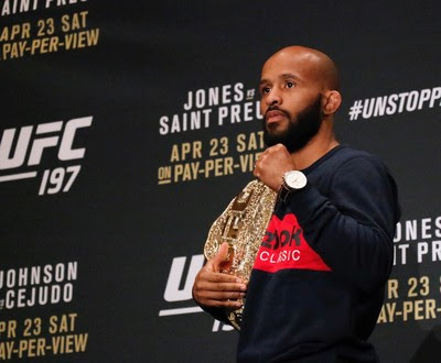 Demetrious Johnson UFC 197 (Foto: Evelyn Rodrigues)