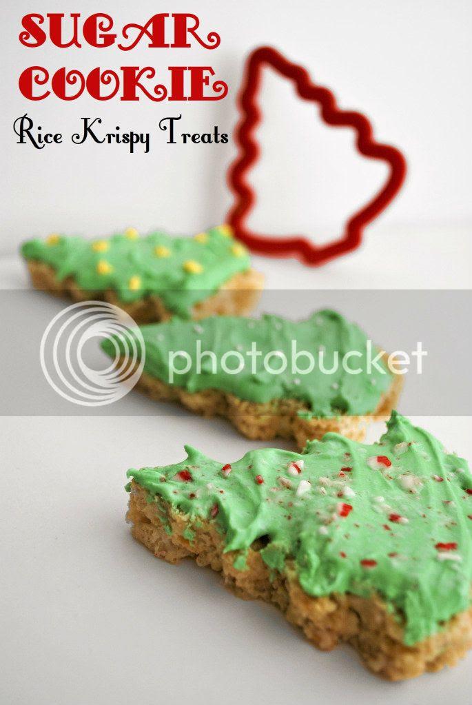 Sugar Cookie Rice Krispy Treats