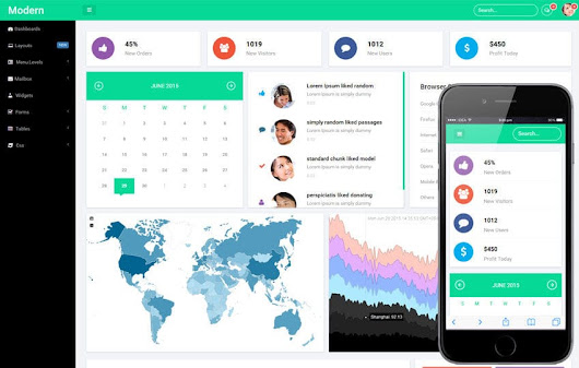 Modern Admin Panel Flat Bootstrap Responsive Web Template by w3layouts