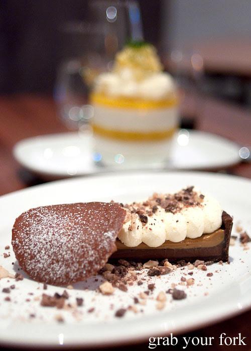 chocolate tart dessert burlington crows nest