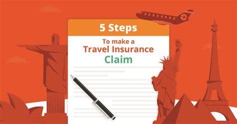 steps    travel insurance claim