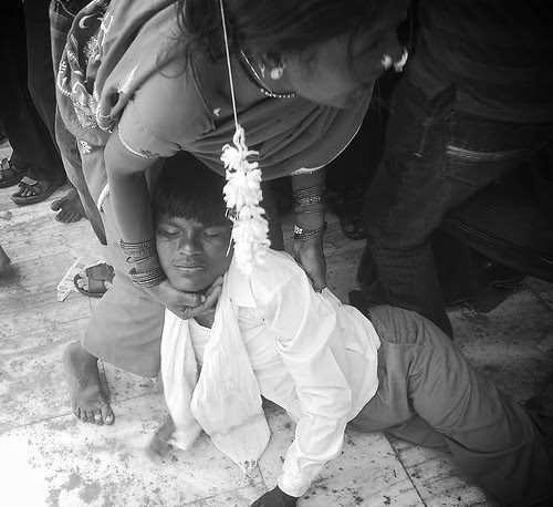Hardcore Possession or Hazri  at Haji Malang Dargah by firoze shakir photographerno1