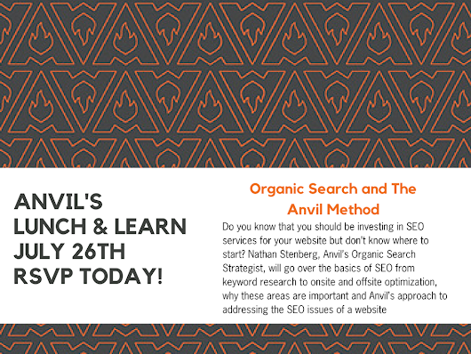 Anvil's Lunch & Learn on Content Marketing - Integrated Marketing | Anvil