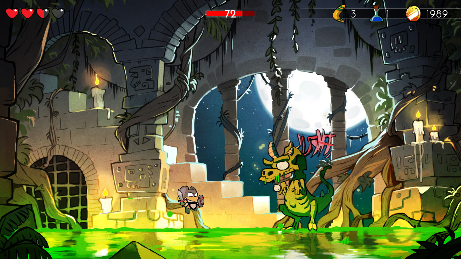 The PC version of Wonder Boy: The Dragon's Trap is out June 8 screenshot