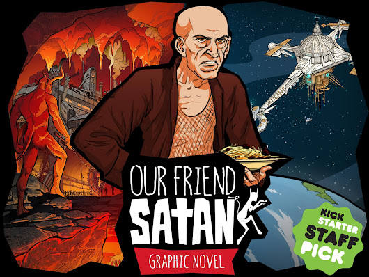 OUR FRIEND SATAN - graphic novel by Imagomedia — Kickstarter