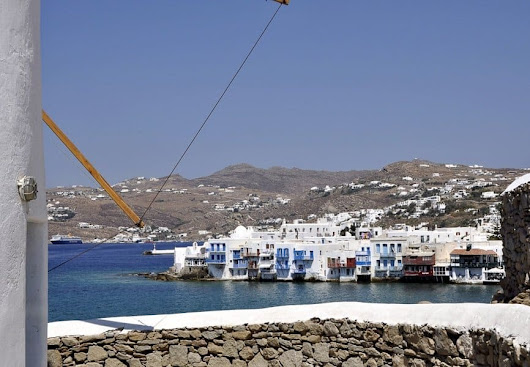 A Day in Mykonos - My Perfect Destination for 'Plan a Cruise Month' | The Travelbunny