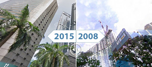 Watch These 42 City Skylines Grow in Before and After Image Transformations