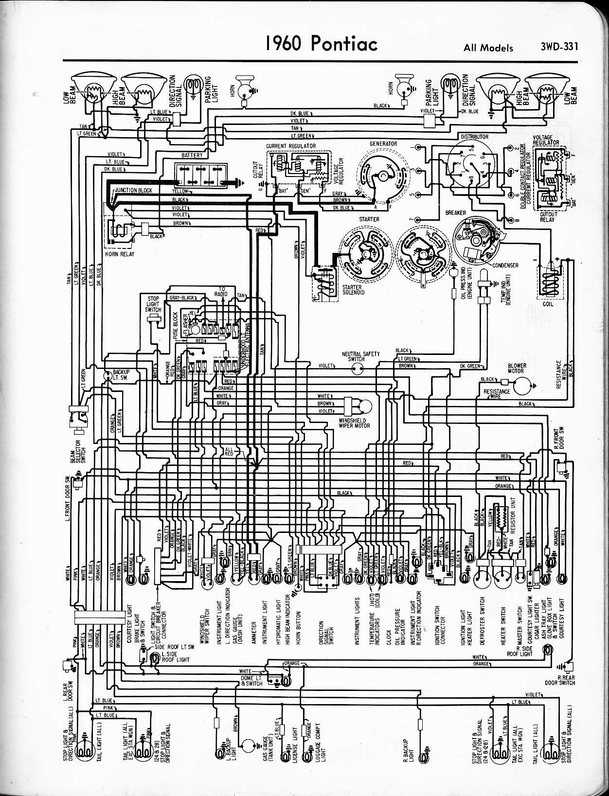1955 Pontiac Wiring Diagram Wiring Diagram Popular Popular Graniantichiumbri It