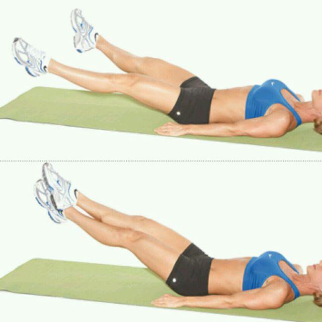 Leg Scissors Workout - WorkoutWalls