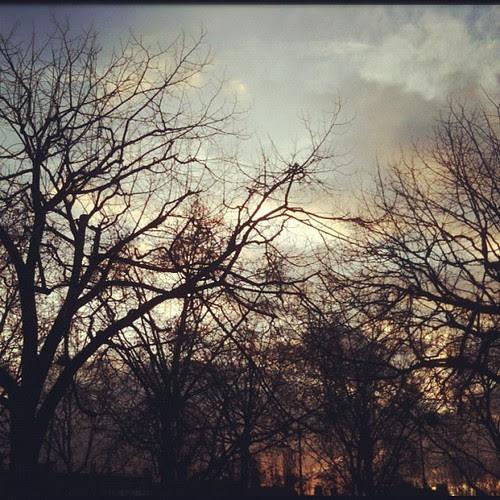 Parisian sunset by la casa a pois