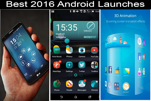 3 Best Android Launcher of 2016 : Change the interface of Phone