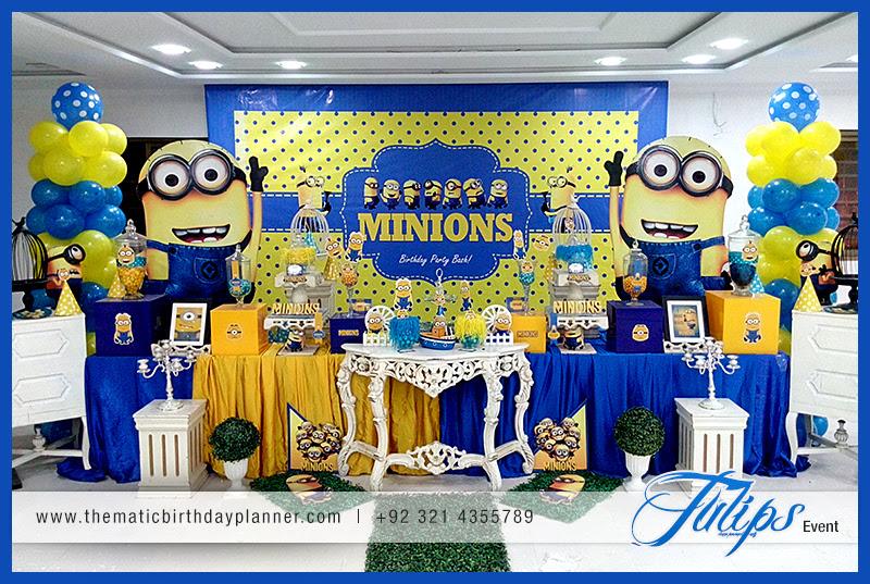 Minions Themed Birthday Party Decoration Ideas In Pakistan