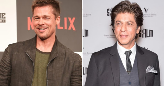 Brad Pitt Has Quietly Arrived In Mumbai And Is Going To Chill With Shah Rukh Khan Tonight