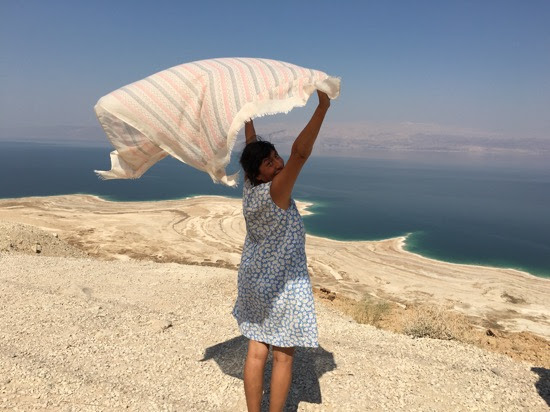 Gladys at the Dead Sea