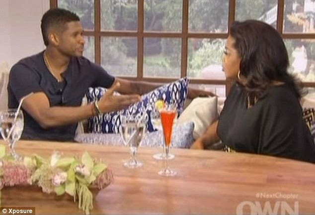Clearing up rumours: Usher revealed he did attend Kile's funeral