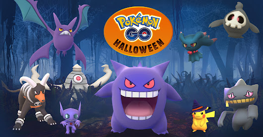 Halloween treats coming to Pokémon GO! - Pokémon GO