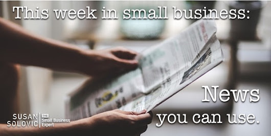This Week in Small Business: Economic omens, cheat sheets, and startup advice