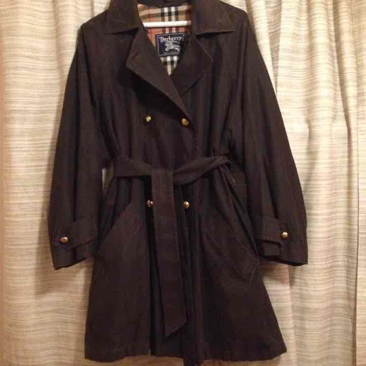♥ BURBERRY Luxury jacket trench coat($ 94) - Mercari: Anyone can buy & sell