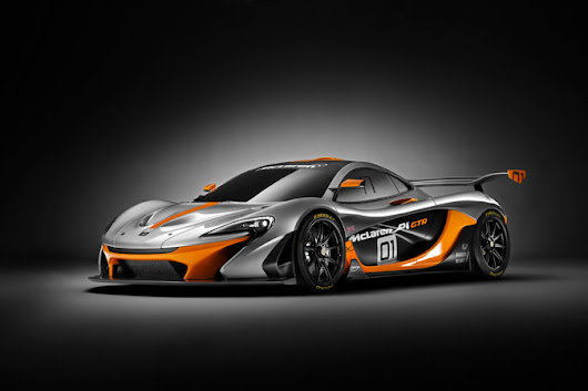 The McLaren P1 GTR: Form Equals Function - NYTimes.com