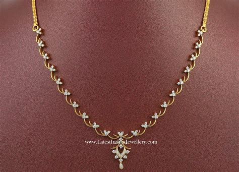 Affordable Indian Diamond Necklace Designs   Jewelry