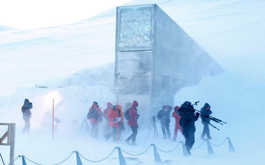 Doomsday Arctic seed vault 'breached after permafrost melts'