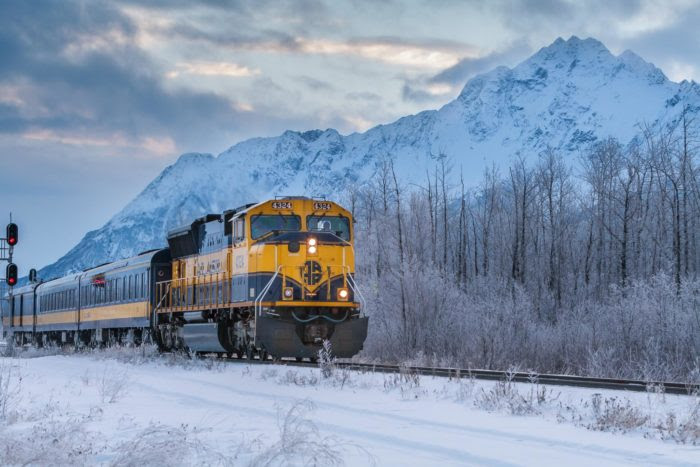 The Magical Holiday Train Ride In Alaska Everyone Should ...