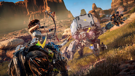 Horizon Zero Dawn Animated GIFs Show One Of The Best Looking Open World