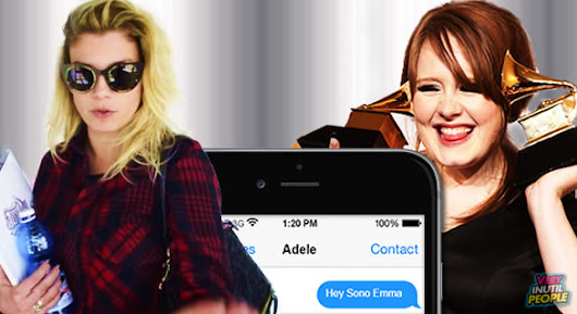 Amici: Emma Marrone messaggia Adele | Very Inutil People