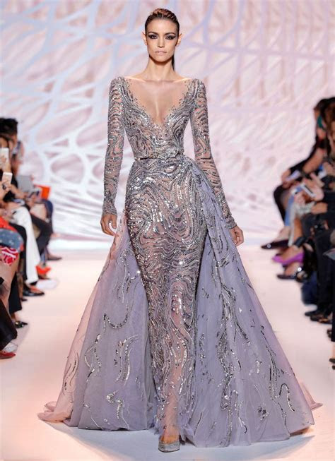 zuhair murad Haute couture fall winter 2015 collection (42