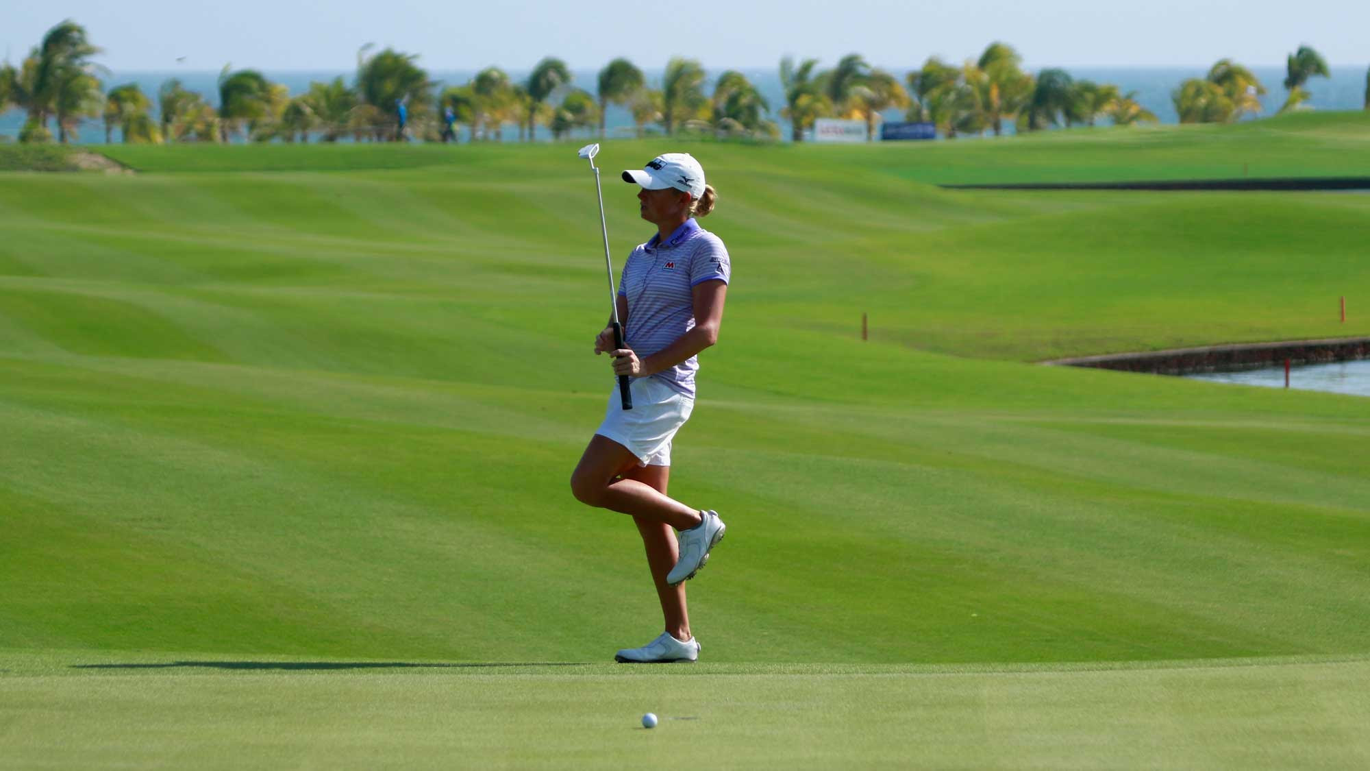Stacy Lewis at Blue Bay
