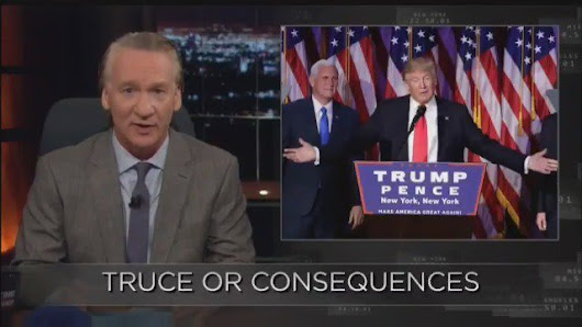 "Bill Maher on Twitter: ""America needs you more than ever, with me and all the rest of #TheResistance, until we can figure out how to really #MAGA! #WereStillHere """
