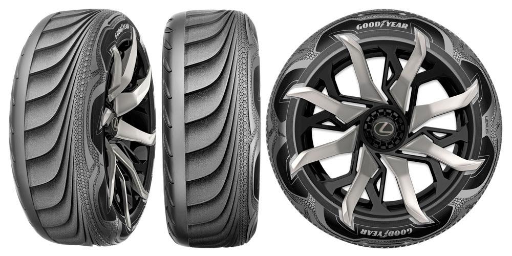 Lexus Lf Sa Goodyear Tires
