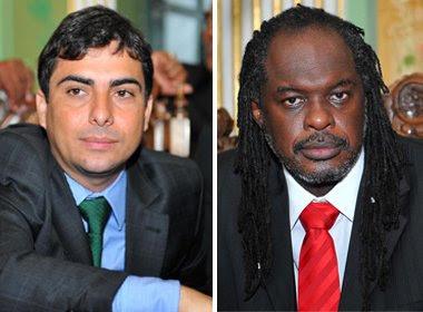 Bonfim: Marcell Moraes e Silvio Humberto estreiam como vereadores no cortejo