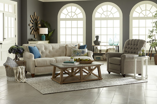 Enter to win this gorgeous La-Z-Boy sofa!