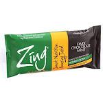 Zing Bars Nutrition Bar - Dark Chocolate Sunflower Mint - Nut Free - 1.76 Oz Bars - Case Of 12