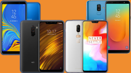 Most Trending smartphones of last week: Samsung Galaxy A9 (2018), Redmi Note 6 Pro, Poco F1, Mi Mix 3 and more - Gizbot News