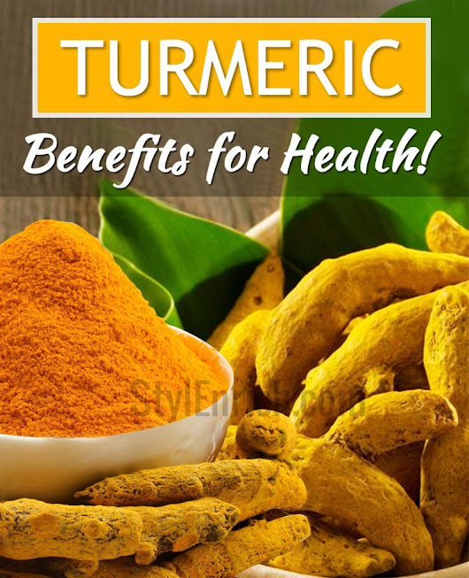 Turmeric Benefits : Health Benefits of Turmeric That You Must Know!