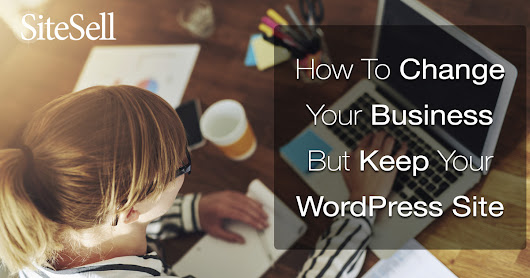 How To Change Your Business But Keep Your WordPress Site - Solo Build It! Blog - Proven Real-World Advice for Solopreneurs