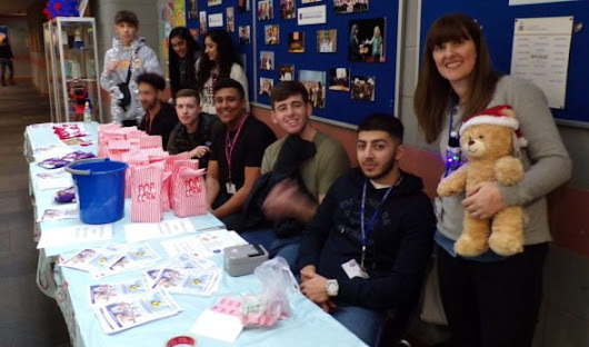 Students' Christmas-themed fundraising raises almost £2,000 for Derby Kids Camp - Landau Forte College Derby