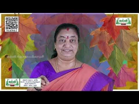 10th Tamil இயற்கைச்சூழல்  திறன் அறிவோம் வினா விடை அலகு 9 பகுதி 2 Q And A TM Kalvi TV