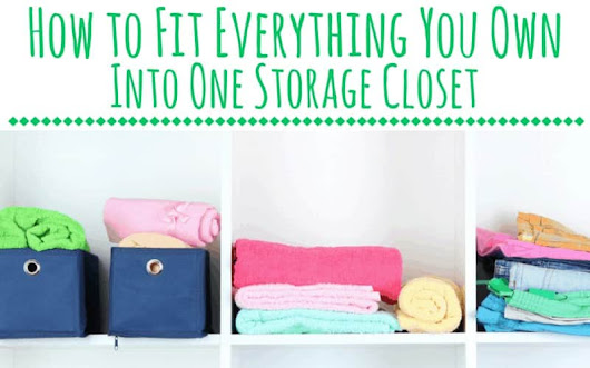 Fit All of Your Stuff in 1 Storage Closet | ApartmentGuide.com