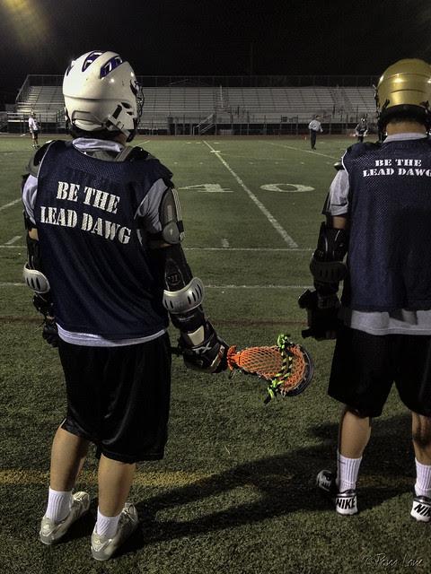 Lacrosse game Manual Arts