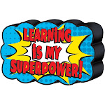 Superhero Magnetic Whiteboard Eraser - Teacher Created