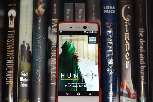 FridayReads – Hunted by Meagan Spooner • We Are Word Nerds